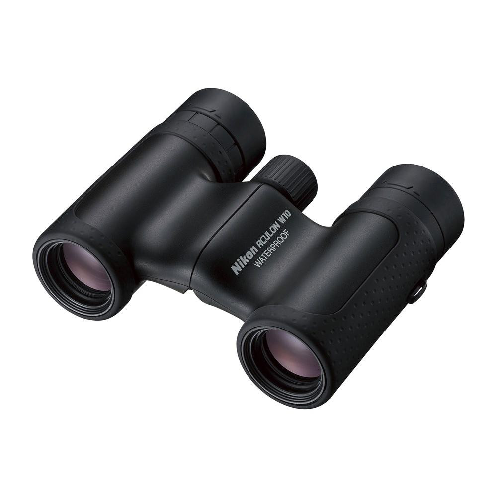 【代引き・同梱不可】双眼鏡 BAA847WA アキュロン W10 10×21 ブラック 071075