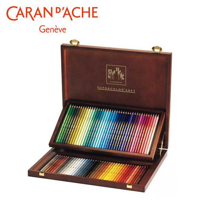 【代引き・同梱不可】カランダッシュ 3888-480 スプラカラーソフト 80色木箱セット 618248