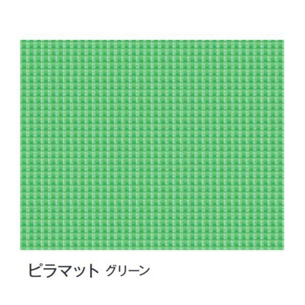 DECO MAISON デコメゾンはおかげさまで開店2周年。レビュー投稿で次回使えるお得なクーポンプレゼント中! 【代引き・同梱不可】富双合成 ビニールマット(置き敷き専用) 約92cm幅×20m巻 ピラマット(グリーン)