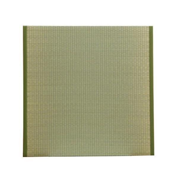 【代引き・同梱不可】置き畳 ユニット畳 『楽座』 88×88×2.2cm(4枚1セット) 8304020