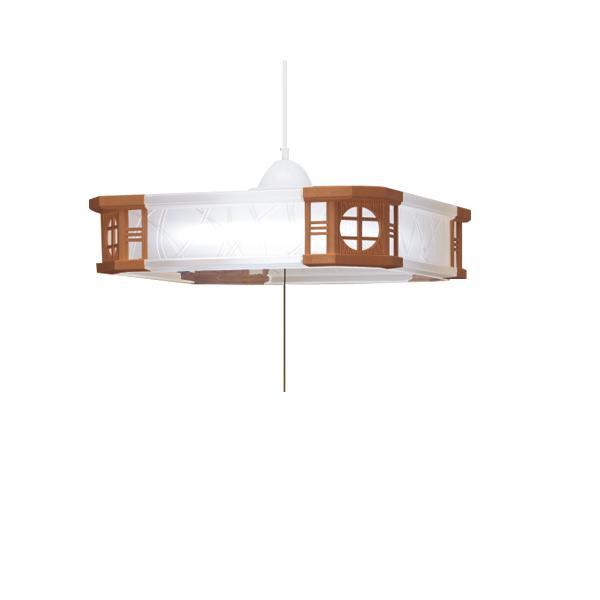 【代引き・同梱不可】TAKIZUMI(瀧住)和風ペンダントライト LEDタイプRVR60103