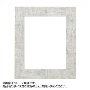 【代引き・同梱不可】アルナ 樹脂フレーム デッサン額 APS-05 ホワイト 横長E 57186