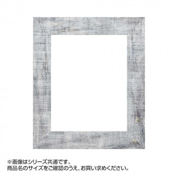 【代引き・同梱不可】アルナ 樹脂フレーム デッサン額 APS-05 グレー ポスターC 57280