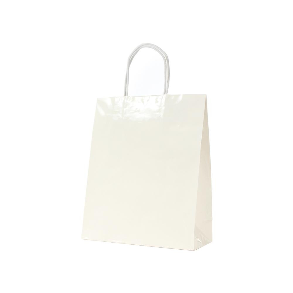 【代引き・同梱不可】パックタケヤマ 手提袋 STB プリティ 白 10枚×10包 XZT00805紙袋