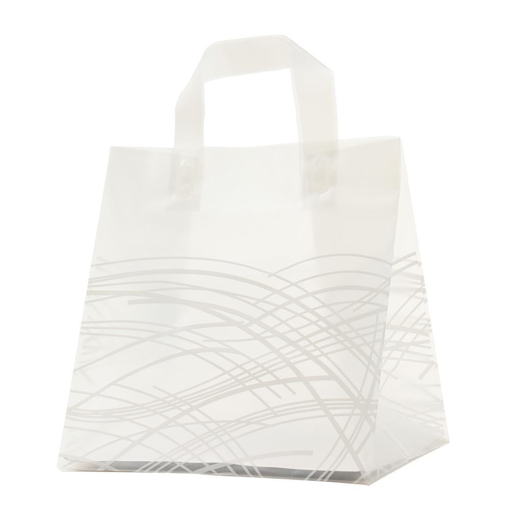【代引き・同梱不可】パックタケヤマ ポリ袋 クレールバッグ 26 グラス 10枚×30束 XZV01093