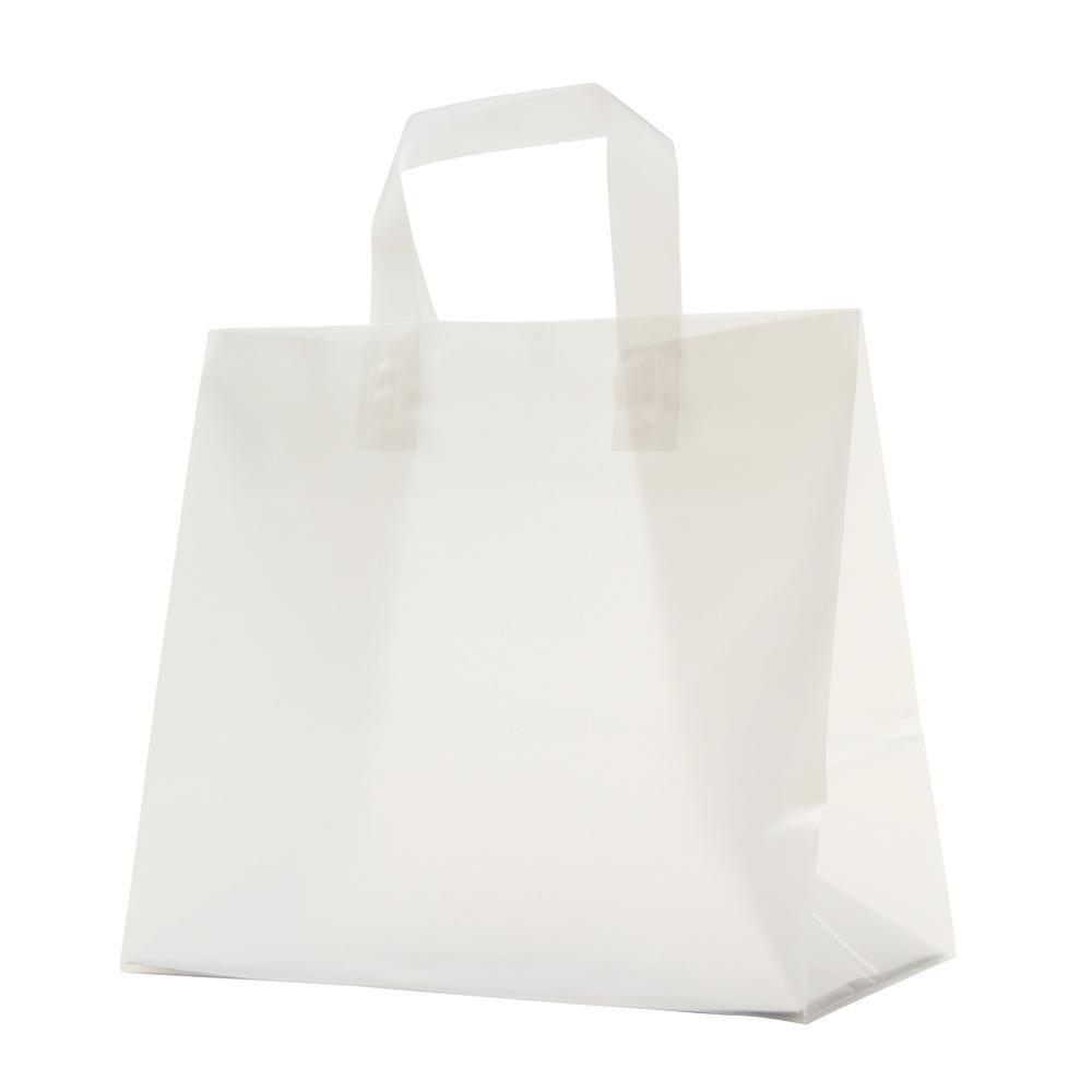 【代引き・同梱不可】パックタケヤマ ポリ袋 クレールバッグ 30 無地 10枚×30束 XZV01096