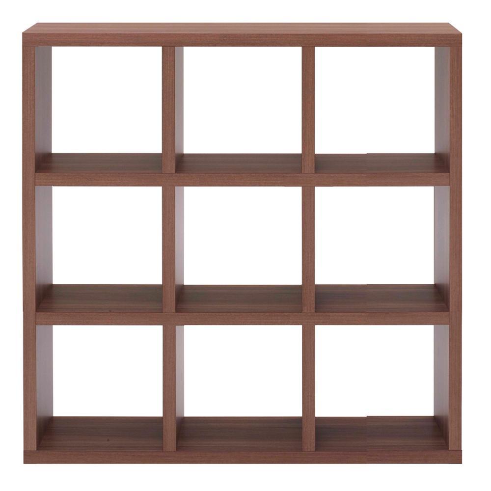 【代引き・同梱不可】フナモコ FREEDOM フリーダム 両面シェルフ リアルウォールナット RSD-330本棚 飾り棚 おしゃれ