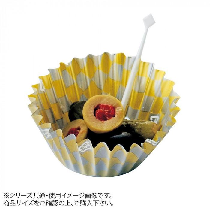【代引き・同梱不可】マイン(MIN) フードケース 市松 金銀 7F 5000枚入 M33-789