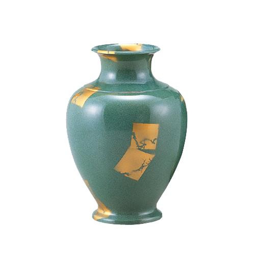 【代引き・同梱不可】高岡銅器 銅製花瓶 住吉 7号 101-04