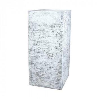 【代引き・同梱不可】FR角柱ラフグレーL 40x40xH81.5 3a00015