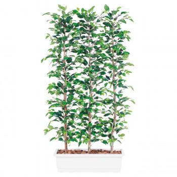 【代引き・同梱不可】東北花材 TOKA 人工樹木 フィッカスベンジャミナパーテーション 96358