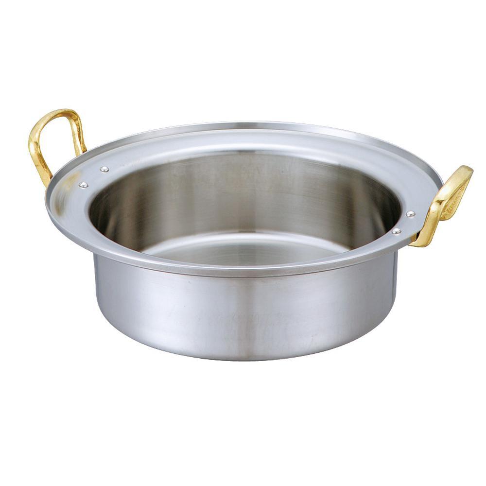【代引き・同梱不可】D-15 キングデンジ すき焼鍋(深型) 30cm 5093389