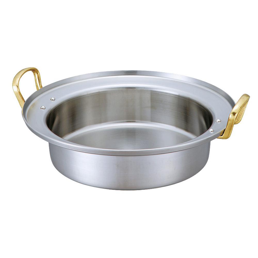 【代引き・同梱不可】D-15 キングデンジ すき焼鍋(浅型) 33cm 5093358