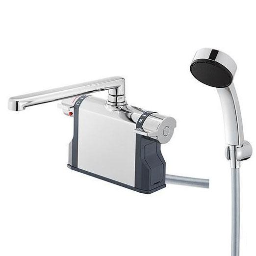 【代引き・同梱不可】三栄水栓 SANEI U-MIX Bathroom サーモデッキシャワー混合栓 SK7810-S9L24