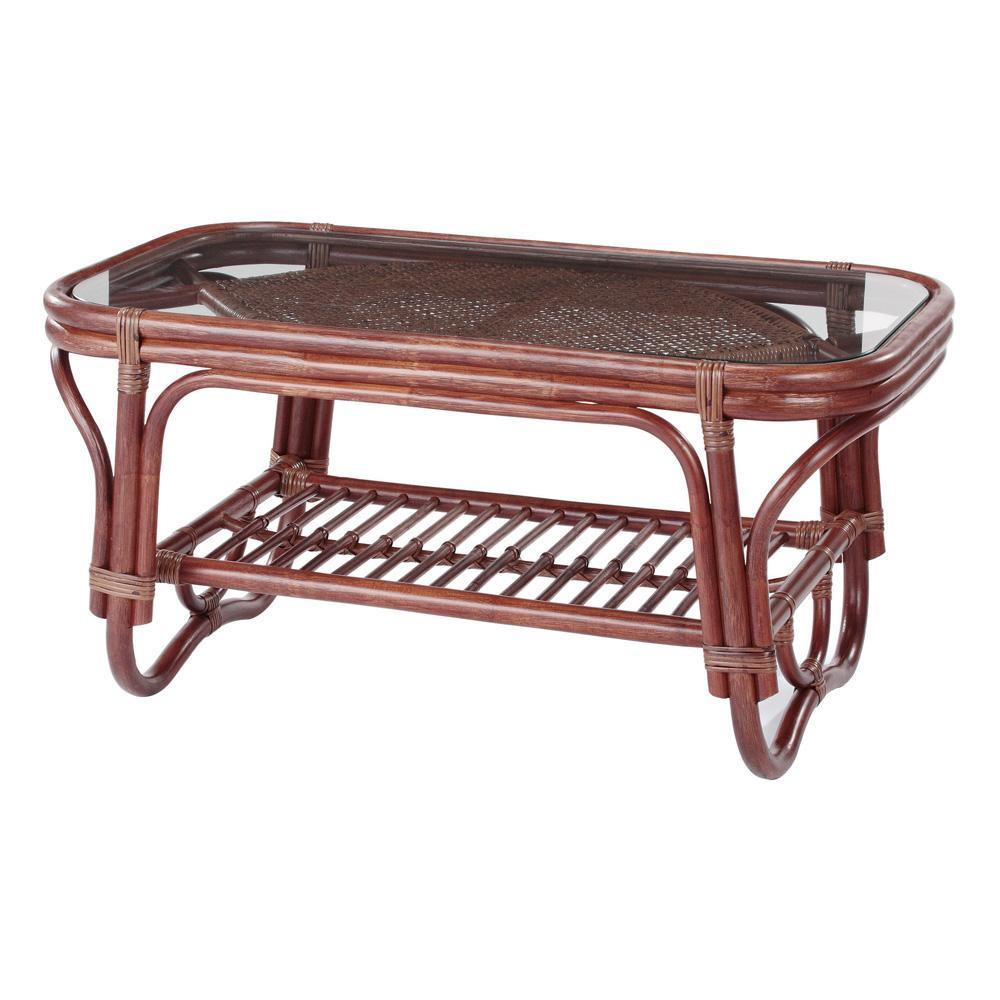 【代引き・同梱不可】今枝ラタン 籐 テーブル NO-321-1D
