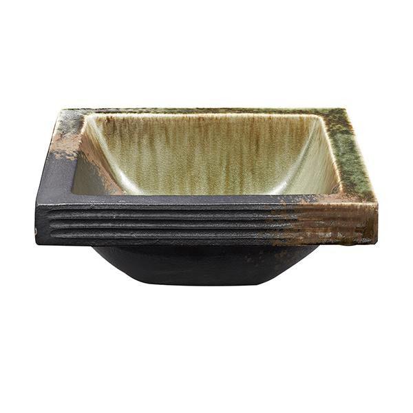 【代引き・同梱不可】三栄水栓 SANEI 利楽 RIRAKU 手洗器 翠緑 SUIRYOKU HW20231-023