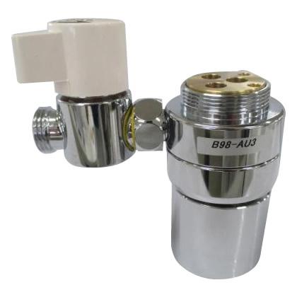 【代引き・同梱不可】三栄水栓 SANEI シングル混合栓用分岐アダプター SAN-EI用 B98-AU3洗面 水道 台所