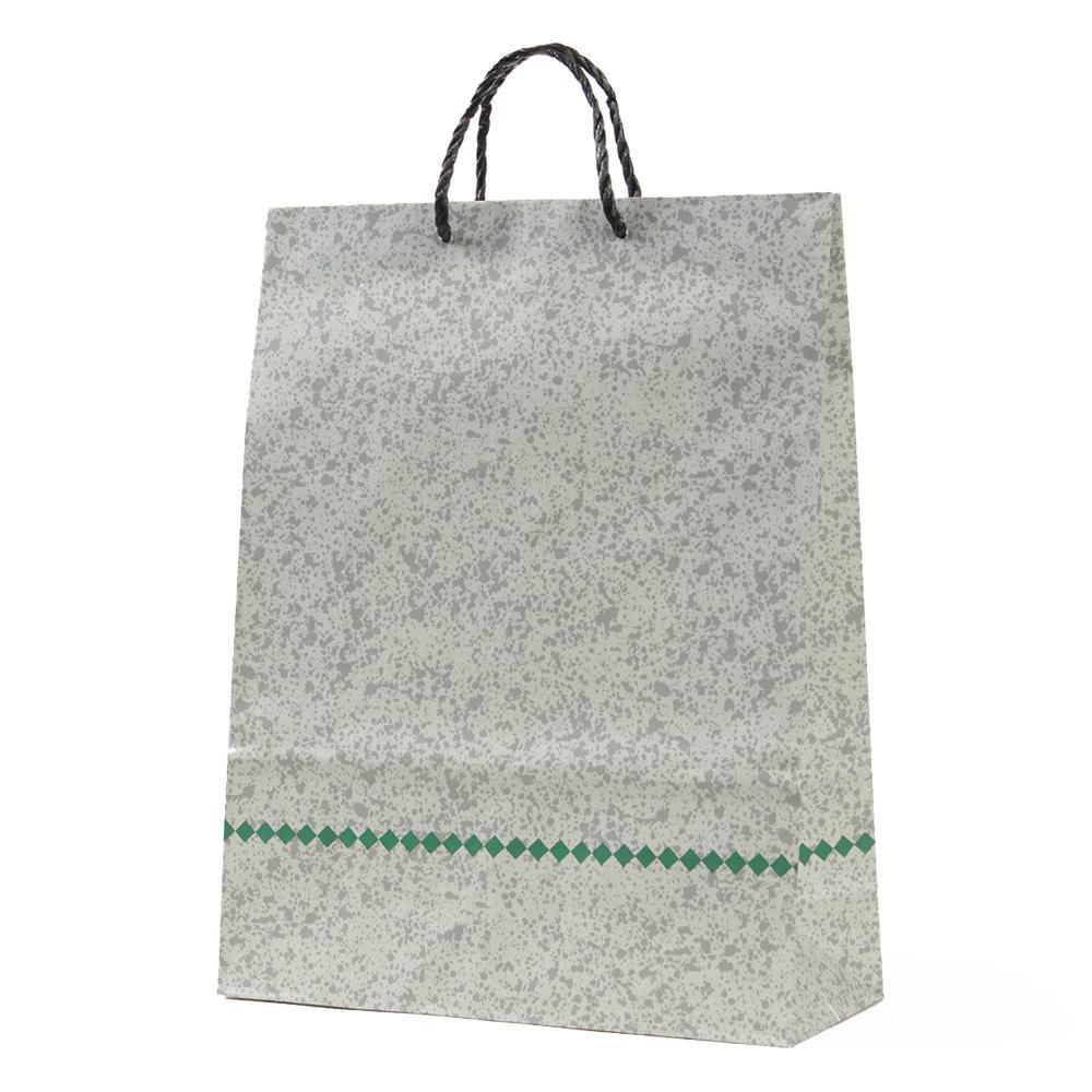 【代引き・同梱不可】パックタケヤマ 手提袋 H100T モザイク 10枚×20束 XZT00601紙袋