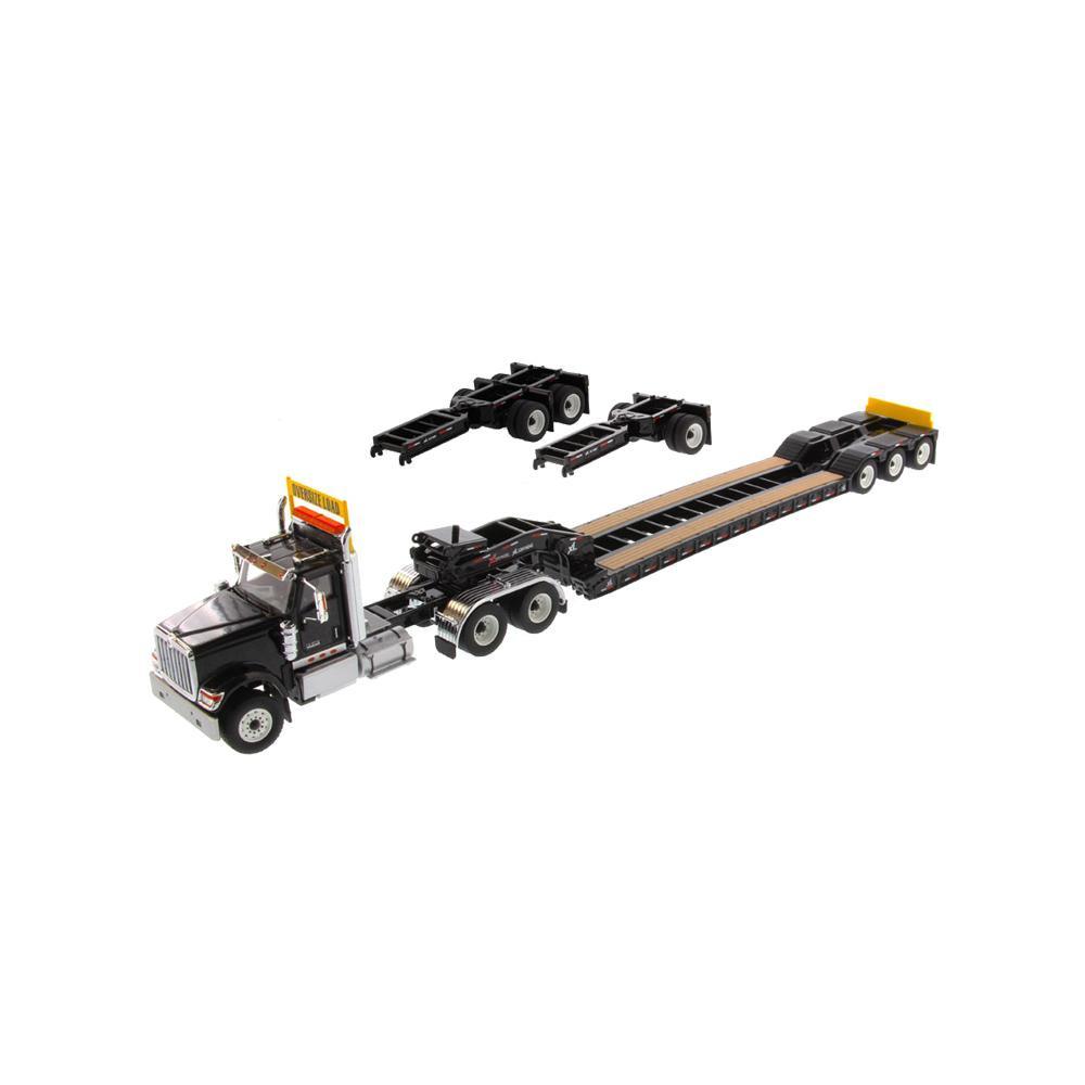 【代引き・同梱不可】DIECAST MASTERS インターナショナル HX520 Tandem トラクター XL 120 ブラック 1/50スケール 71017