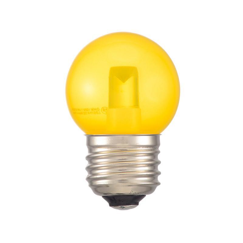DECO MAISON デコメゾンは SHOP OF THE MONTH 2019年12月 月間MVP受賞 レビュー投稿で次回使えるお得なクーポンプレゼント 評価 代引き LDG1Y-H E26 同梱不可 1.4W 60lm 年末年始大決算 OHM G40 LEDミニボール球装飾用 クリア黄色 13C
