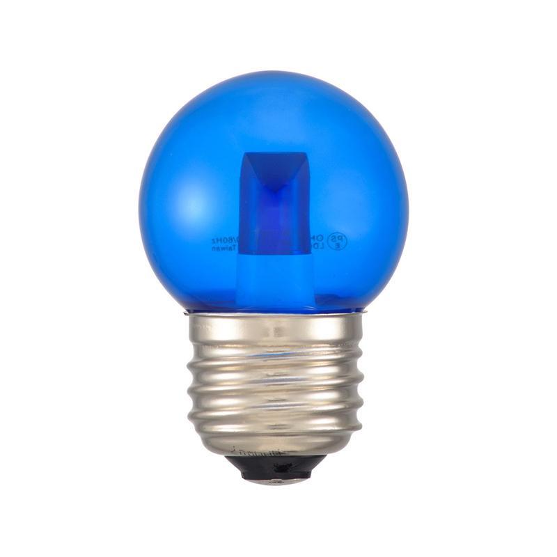 新着セール DECO MAISON デコメゾンは SHOP OF THE MONTH 2019年12月 月間MVP受賞 レビュー投稿で次回使えるお得なクーポンプレゼント 代引き LEDミニボール球装飾用 1.4W クリア青色 1lm 送料無料カード決済可能 E26 OHM 13C G40 LDG1B-H 同梱不可