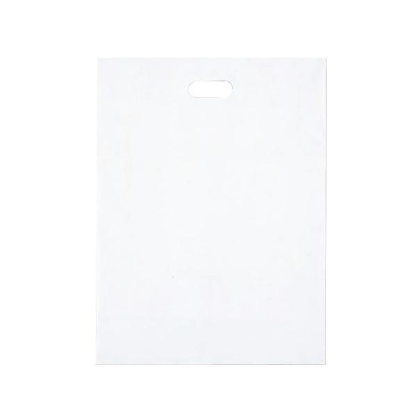 【代引き・同梱不可】シティバッグ ポリ手提袋 M 370×500mm 300枚 ホワイト 4194ビニール袋 手提げバッグ 業務用