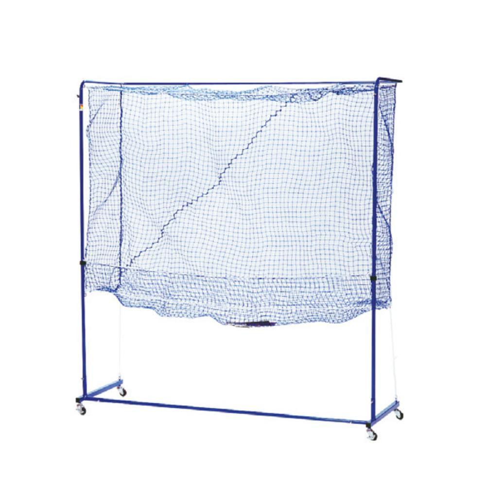 【代引き・同梱不可】卓球トレメイト 多球練習用ネット製ゲージ 組立式 スタンダード ブルー WLS8287