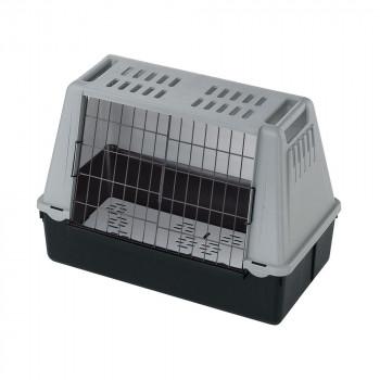 【代引き・同梱不可】ファープラスト アトラスカー MINI 犬・猫用キャリー グレー 73079021