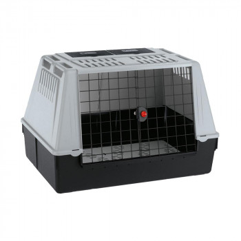【代引き・同梱不可】ファープラスト アトラスカー 100 犬・猫用キャリー グレー 73100021