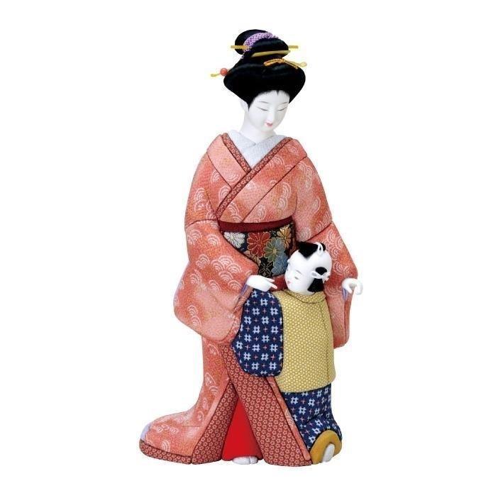 【代引き・同梱不可】01-266 木目込み人形 おねだり セット