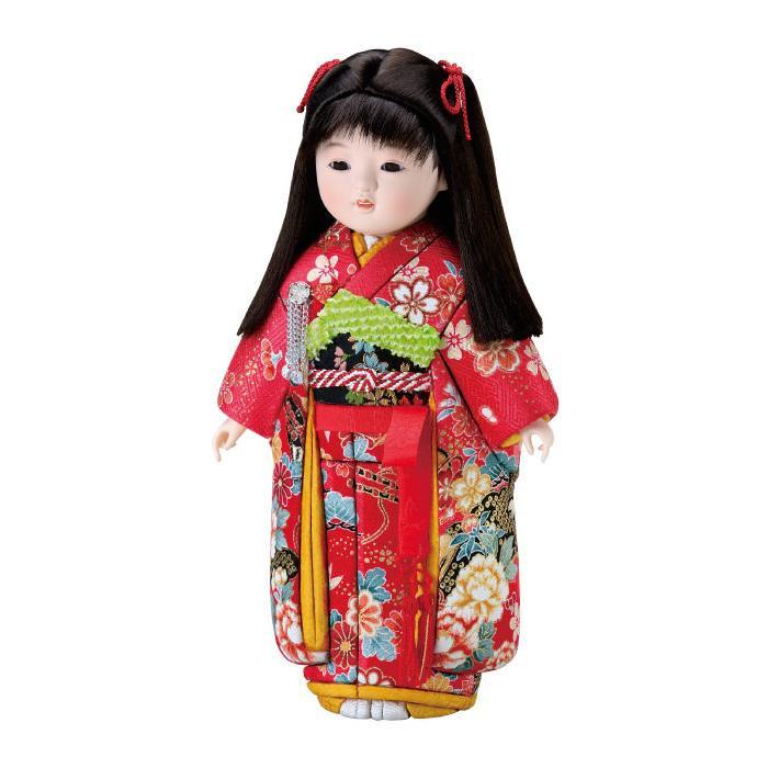 【代引き・同梱不可】01-763 木目込み人形 さゆりちゃん セット