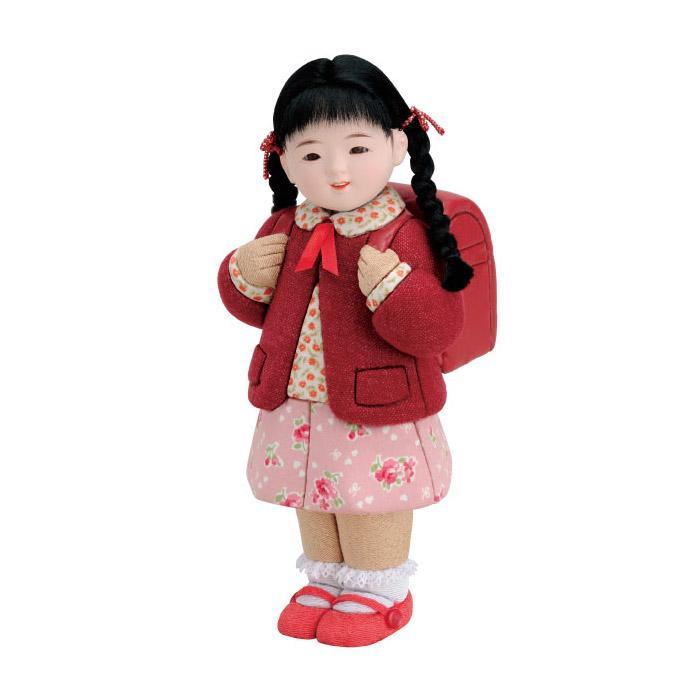 【代引き・同梱不可】01-701 木目込み人形 希望(女) セット