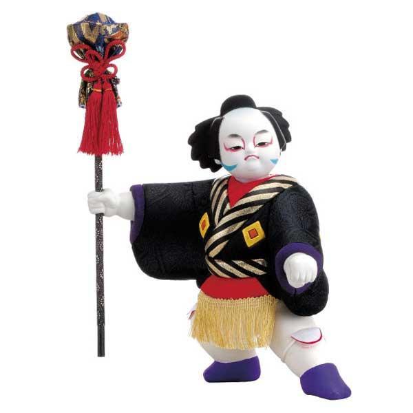 【代引き・同梱不可】01-647 木目込み人形 供奴(大) セット