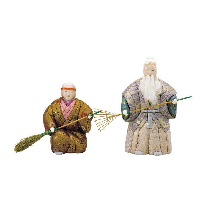 【代引き・同梱不可】01-107 木目込み人形 高砂(特大) ボディ