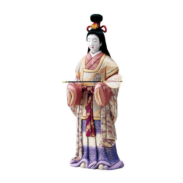 【代引き・同梱不可】01-677 木目込み人形 紫苑 セット