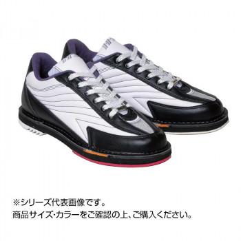 【代引き・同梱不可】ボウリングシューズ リパップエクストラ ホワイト/ブラック 25.0cm