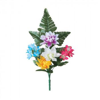 【代引き・同梱不可】アーティフィシャルフラワー 盆花マムブッシュ(小) ミックス 36本セット F5036 アレンジメント