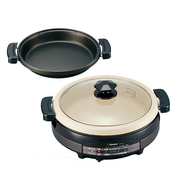 【代引き・同梱不可】グリルなべ あじまる(R) 5.3L ブラウン(TA) EP-RD20すき焼き 鍋 調理器具