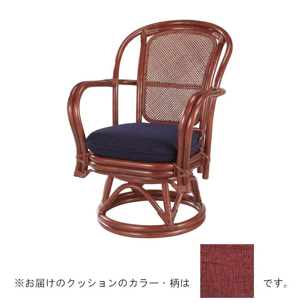 【代引き・同梱不可】今枝ラタン 籐 シーベルチェア 回転椅子 アルファー A-230MD