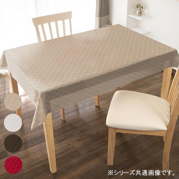【代引き・同梱不可】サテン調テーブルクロス 130巾×20M STN-100