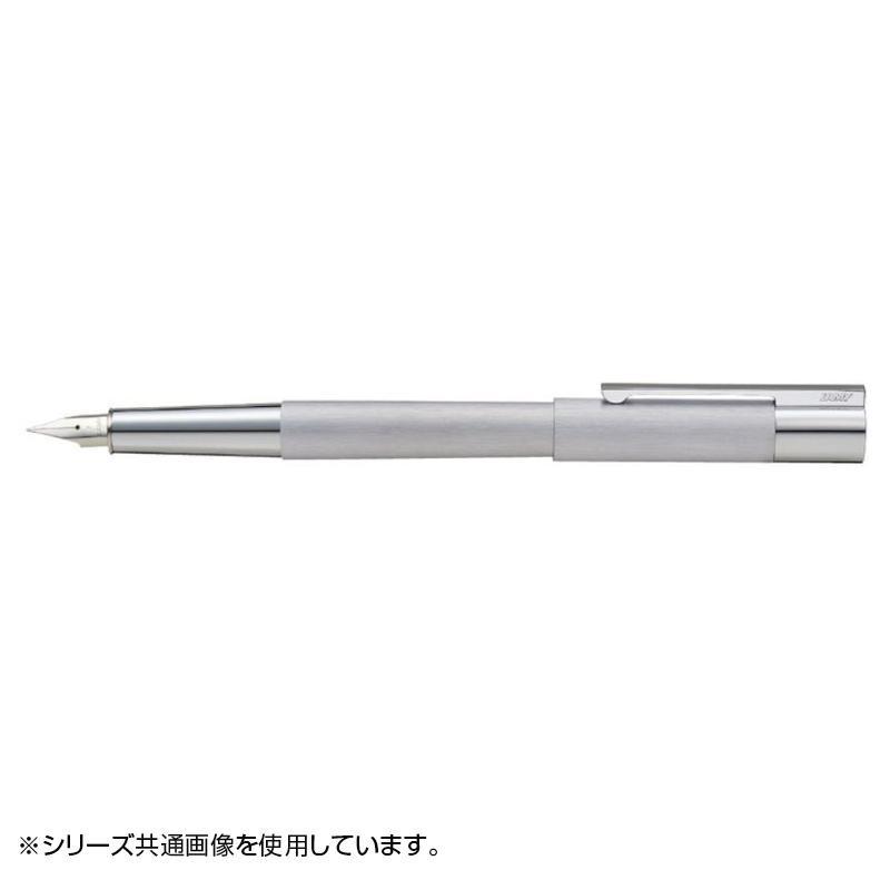 【代引き・同梱不可】ラミー スカラ ステンレス 万年筆(M) スチールペン先 L51-M