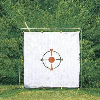 【代引き・同梱不可】ホームゴルフネット3号型セット ベクトランネット付