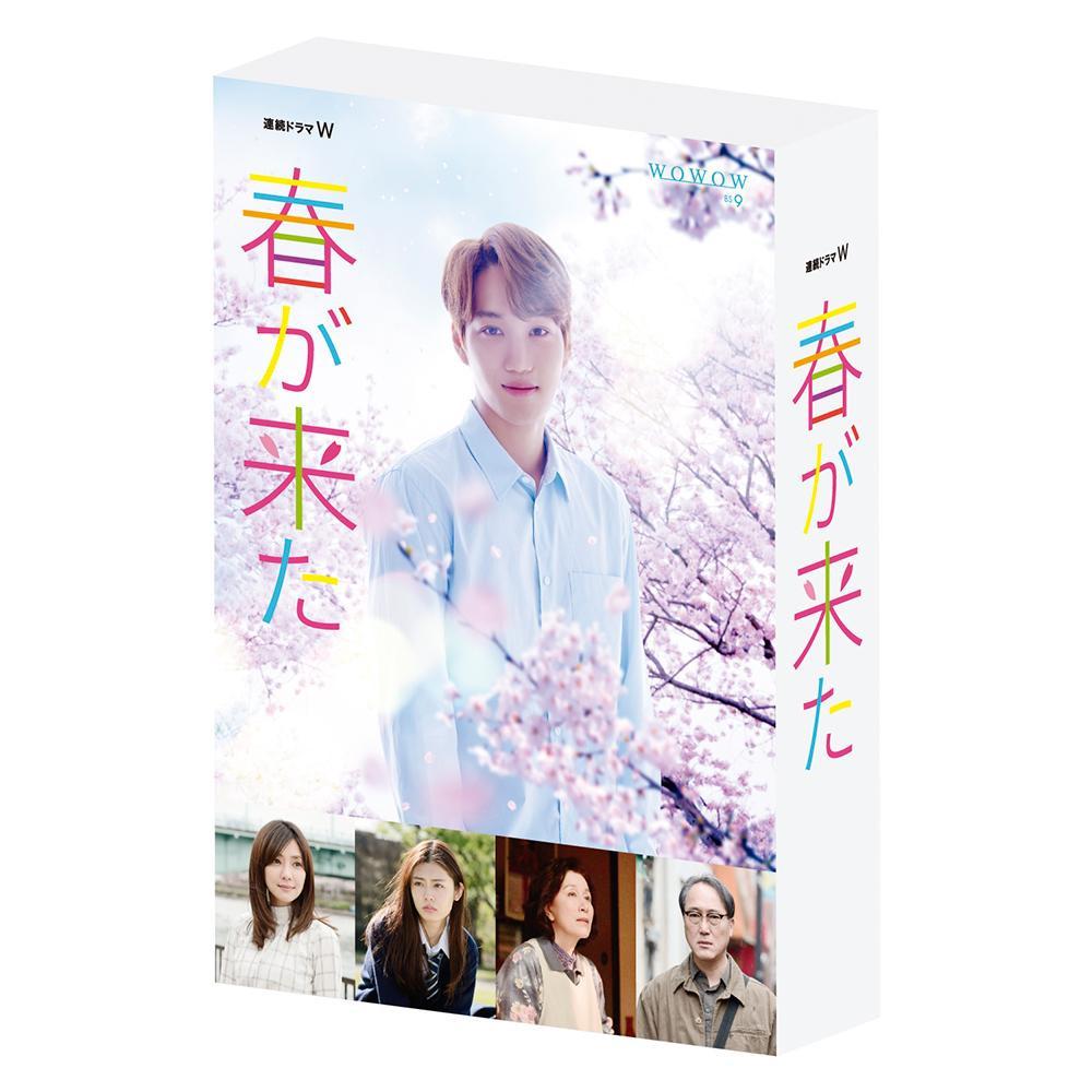 【代引き・同梱不可】連続ドラマW 春が来た Blu-ray BOX TCBD-0749文春文庫 2018年 ヒューマンドラマ
