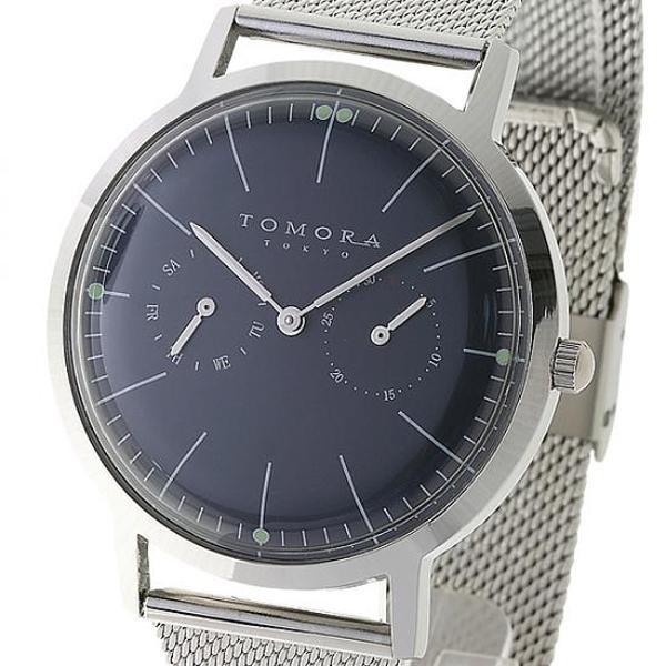 【代引き・同梱不可】TOMORA TOKYO(トモラ トウキョウ) 腕時計 T-1603-BL