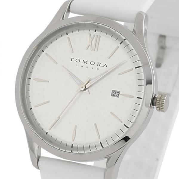 【代引き・同梱不可】TOMORA TOKYO(トモラ トウキョウ) 腕時計 T-1605-SWH