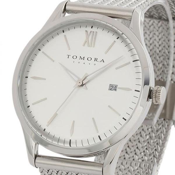 【代引き・同梱不可】TOMORA TOKYO(トモラ トウキョウ) 腕時計 T-1605SS-SWH