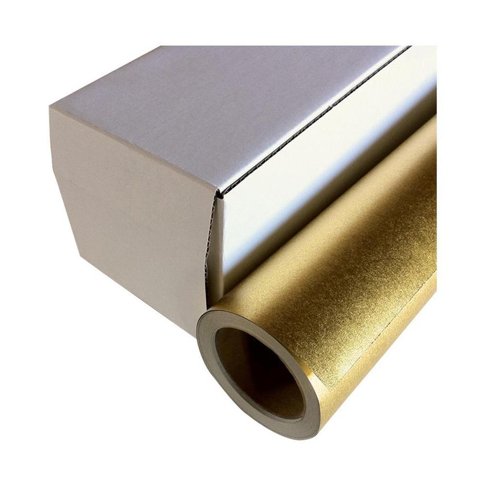 【代引き・同梱不可】和紙のイシカワ インクジェット用金屏風紙 914mm×20m巻 WA024