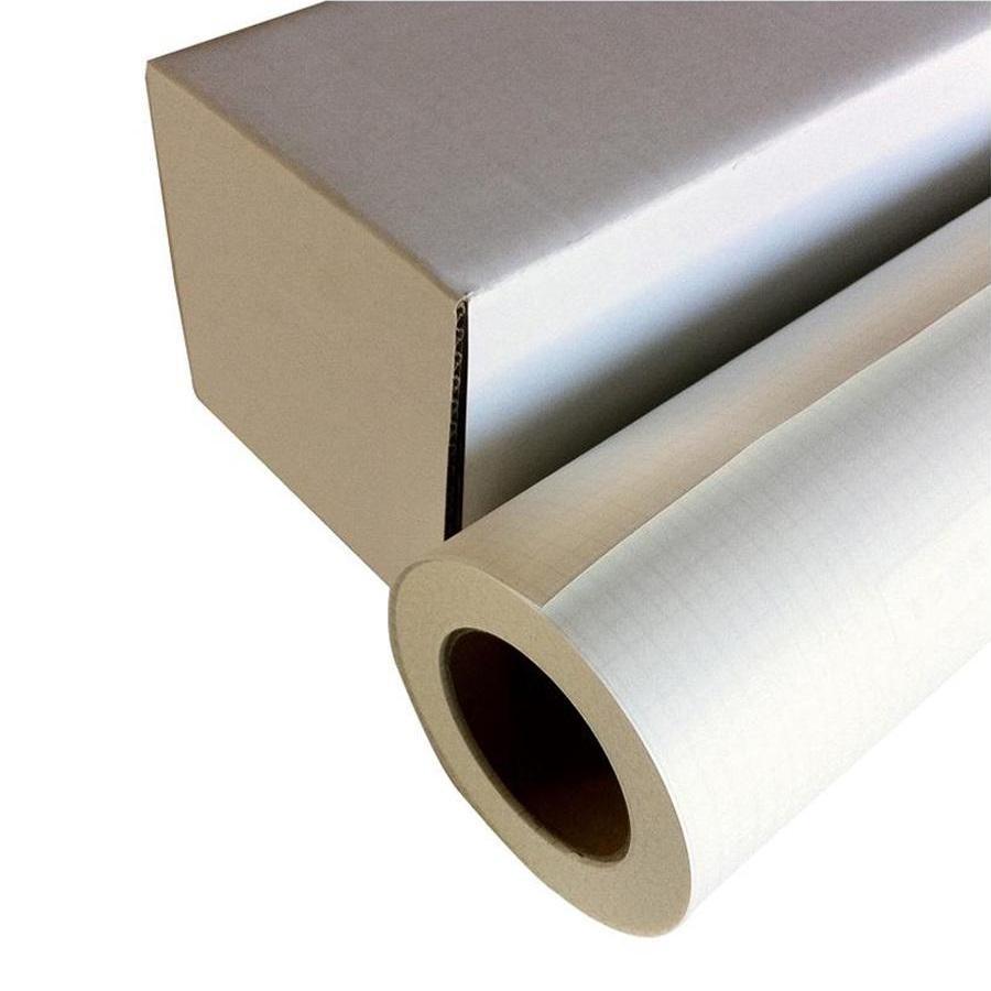 【代引き・同梱不可】和紙のイシカワ インクジェット用粘着薄和紙 432mm×20m巻 WA008