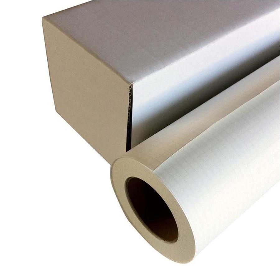 【代引き・同梱不可】和紙のイシカワ インクジェット用粘着薄和紙 610mm×20m巻 WA009