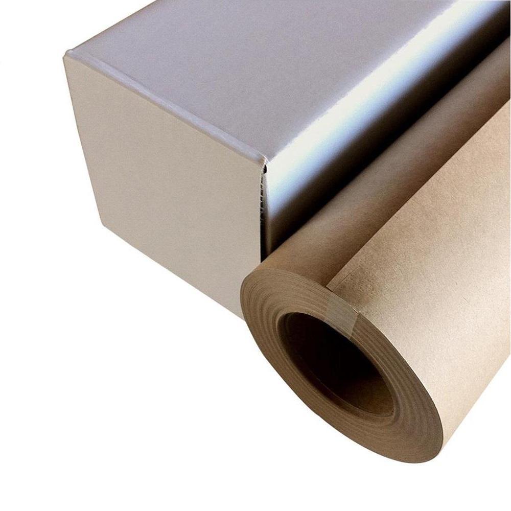 【代引き・同梱不可】和紙のイシカワ インクジェット用クラフト紙 610mm×30m巻 WA022-610